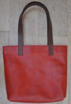 Bright Red Tote