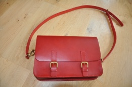 Medium Red Satchel