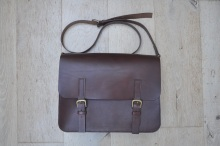 Large Brown Satchel w/Laptop insert