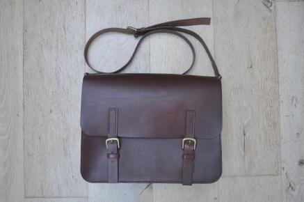 Large Brown Satchel w/Laptop insert