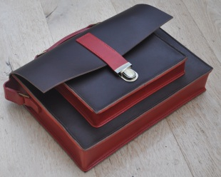 Satchel/Briefcase with laptop inset