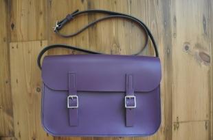 Medium Purple Satchel