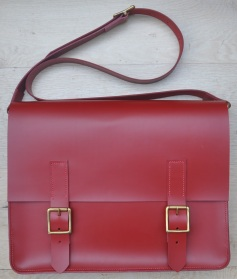 Large Red Satchel
